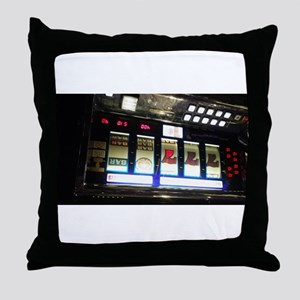 one two tip a few slots Throw Pillow