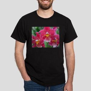 Pink Orchids Dark T-Shirt