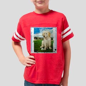 10x10 bear right Youth Football Shirt