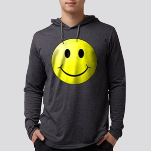 Smiley Face Mens Hooded Shirt