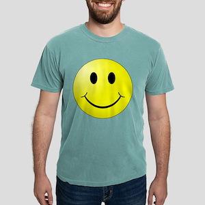 Smiley Face Mens Comfort Colors Shirt