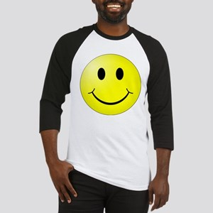 Smiley Face Baseball Jersey