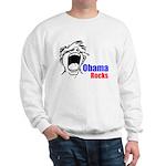 Obama Rocks Sweatshirt