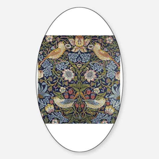 Cute Arts and crafts Sticker (Oval)