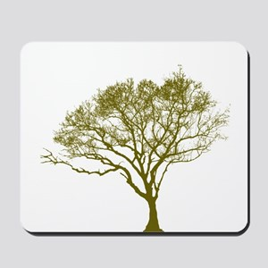 Green Tree Mousepad