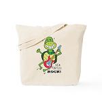 SEA TURLTES ROCK Tote Bag