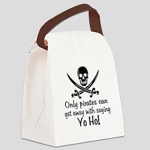 Pirate - Yo Ho Canvas Lunch Bag