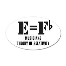 e equals f flat.JPG Wall Decal
