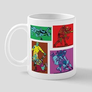 Pop Art Rugby Mug