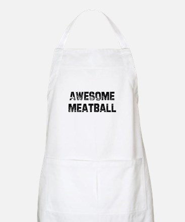 Awesome Meatball BBQ Apron