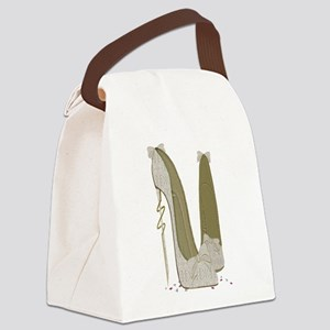 Wedding Stiletto Shoes Art Canvas Lunch Bag