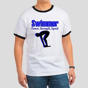 NUMBER 1 SWIMMER Ringer T