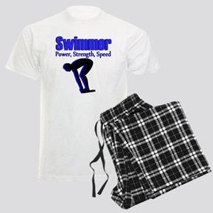 NUMBER 1 SWIMMER Men's Light Pajamas