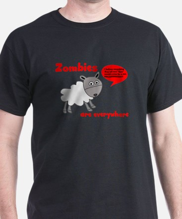 Zombies are Everywhere T-Shirt
