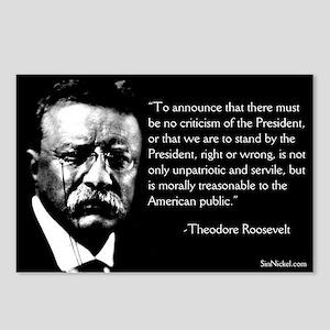 Teddy Roosevelt on Dissent Postcards
