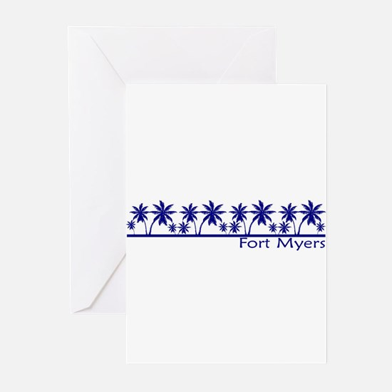 Fort Myers, Florida Greeting Cards (Pk of 10)