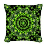 Web of the Spider Woven Throw Pillow
