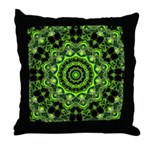 Web of the Spider Throw Pillow