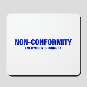 NON-CONFORMITY-HEL-BLUE Mousepad