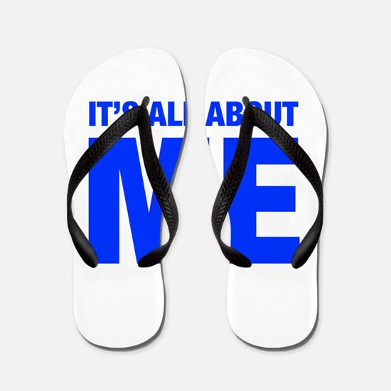 ITS-ME-HEL-BLUE Flip Flops