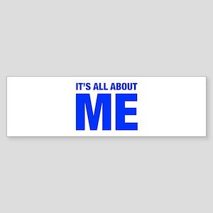 ITS-ME-HEL-BLUE Bumper Sticker