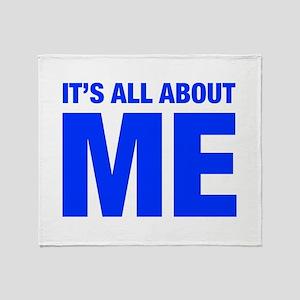 ITS-ME-HEL-BLUE Throw Blanket