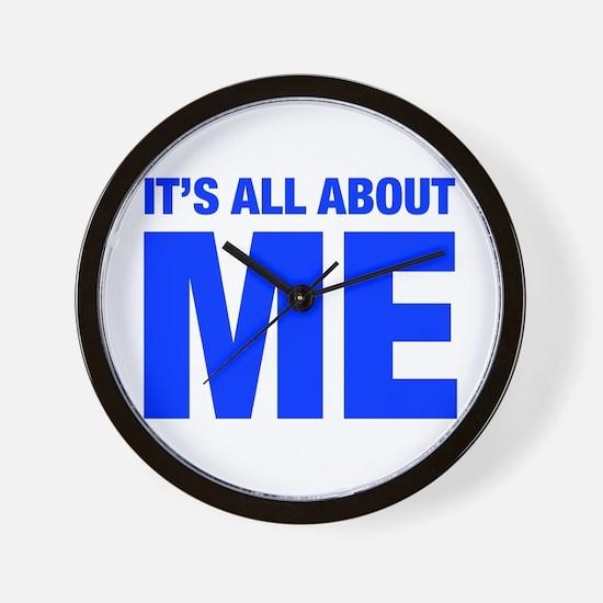 ITS-ME-HEL-BLUE Wall Clock