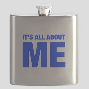 ITS-ME-HEL-BLUE Flask