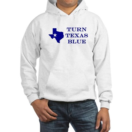Turn Texas Blue Hoodie