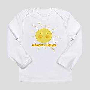 Mamaw's Sunshine Long Sleeve Infant T-Shirt