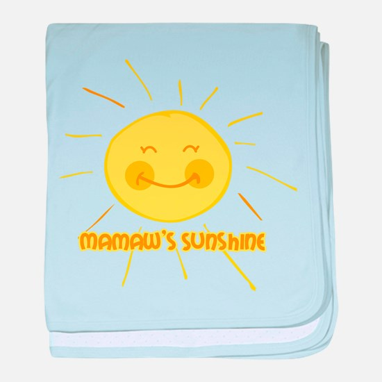 Mamaw's Sunshine baby blanket