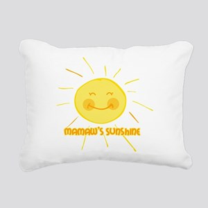 Mamaw's Sunshine Rectangular Canvas Pillow