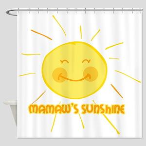 Mamaw's Sunshine Shower Curtain