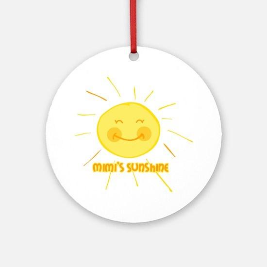 Mimi's Sunshine Ornament (Round)