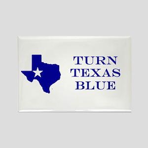 Turn Texas Blue Stkr Magnets