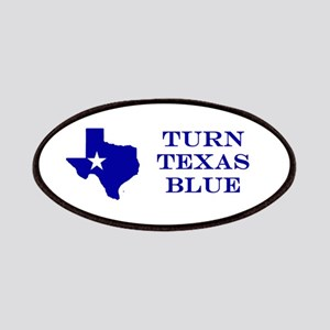 Turn Texas Blue Stkr Patches