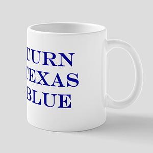 Turn Texas Blue Stkr Mugs