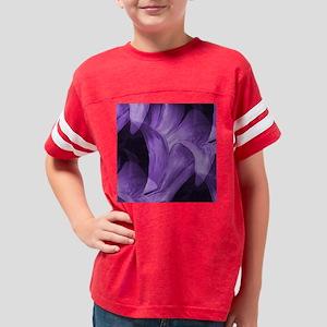 Modern Style Purple Lily Wall Youth Football Shirt