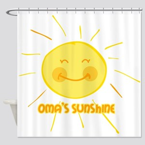 Oma's Sunshine Shower Curtain