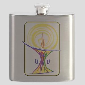 UU Unity Chalice Flask