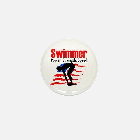 LOVE TO SWIM Mini Button