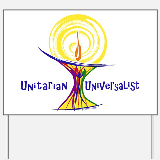 UU Unity Chalice Yard Sign