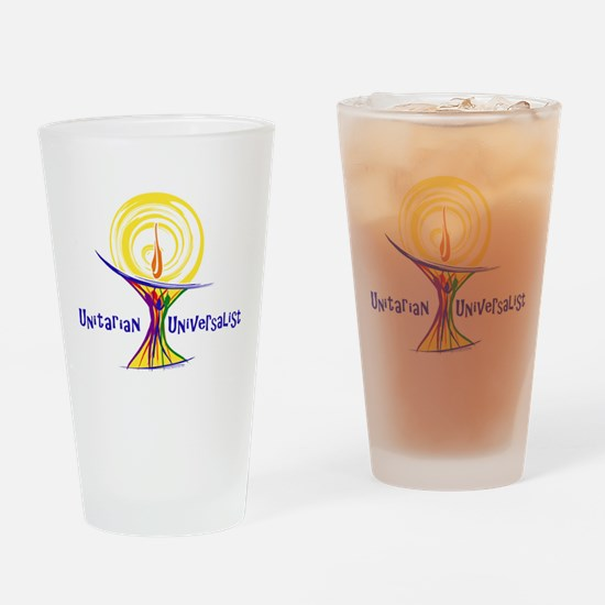 UU Unity Chalice Drinking Glass