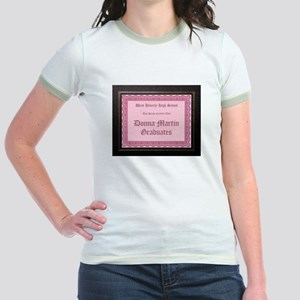 Donna Martin Graduates Hot Chick Ringer T-Shirt