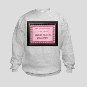 Donna Martin Graduates Kids Sweatshirt