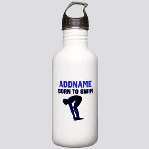 SWIMMER CHAMP Stainless Water Bottle 1.0L