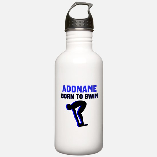 SWIMMER CHAMP Water Bottle
