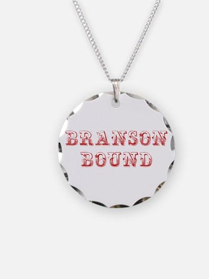 BRANSON-BOUND-MAX-DARK-RED Necklace