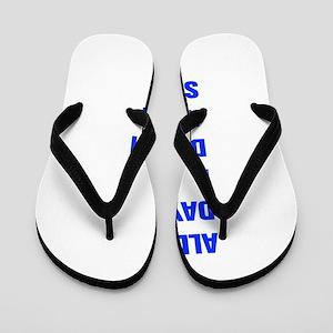 ALL-DAY-AKZ-BLUE Flip Flops