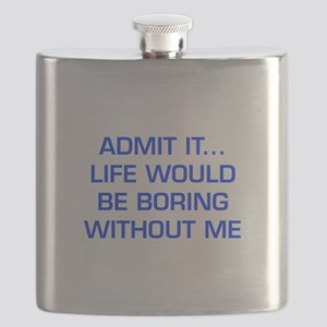 admit-it-EURO-BLUE Flask